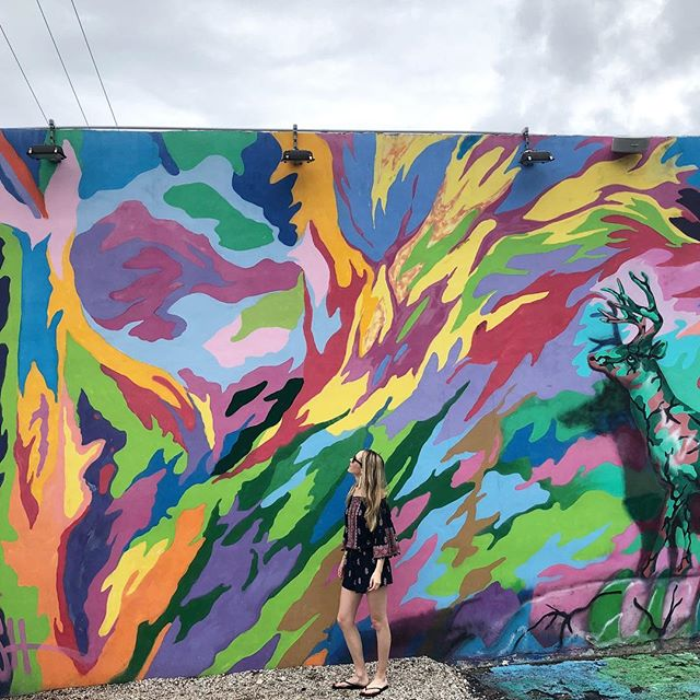 Lots of inspiration to be found at Wynwood Walls #miami
