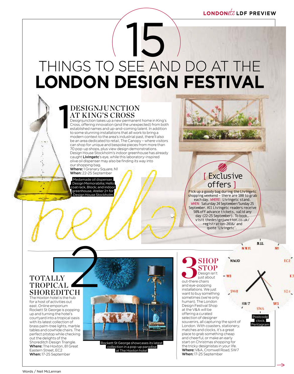 Layman's guide to the London Design Festival