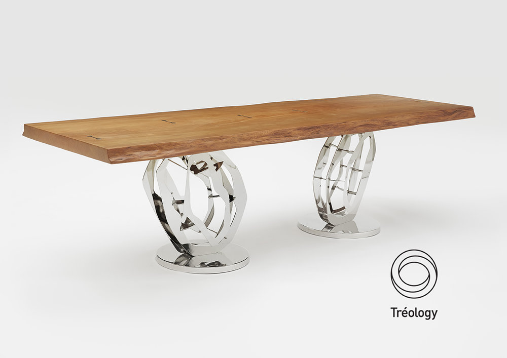 The Tréology Odyssey table features at COCA as a Resource table for facts and information on environmental issues. Tréology is very proud to be recognised by the arts for our sustainability practices and creating pieces of functional art.