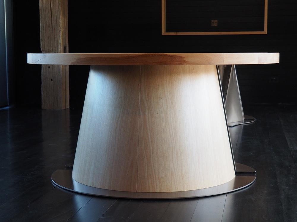 Private Tasting Room Table    -       Tanekaha wood bronze