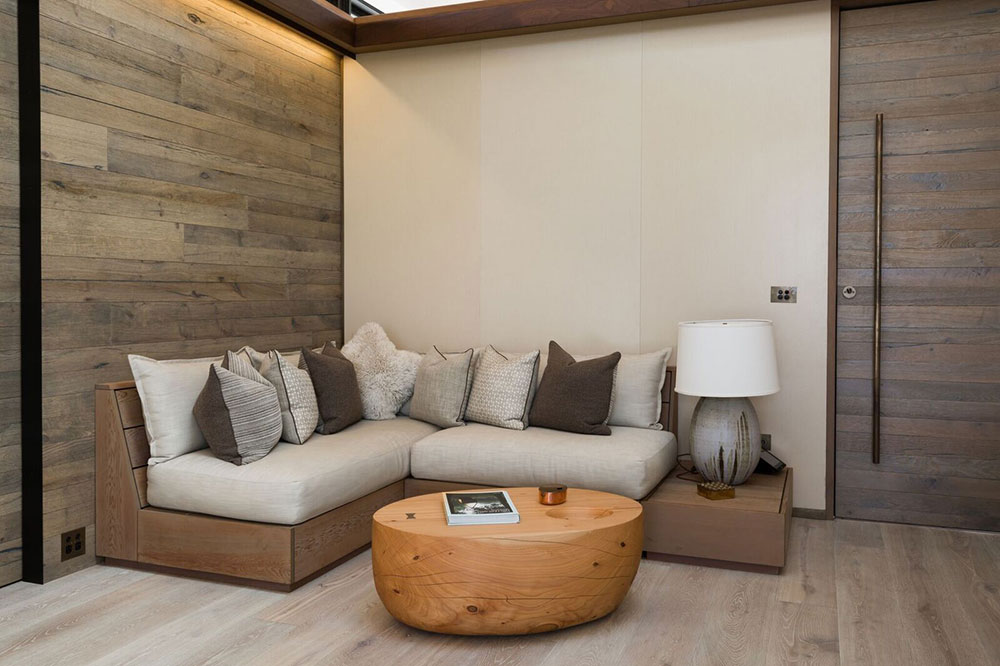 Coffee table for Tara Iti Ocean Suites    -       Macrocarpa coffee table