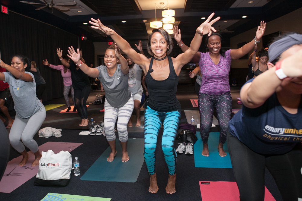 Free Hip Hop Yoga at Topgolf Midtown