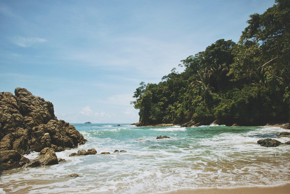 """Pura Vida is the mantra that Costa Ricans live by. It means """"pure life"""".    In other words, living simply: letting go of all the doubts and worries, and staying in a constant state of gratitude. This mindset can often be challenging when the daily stresses of life tug at us. But with consistent practice, we can learn to remind ourselves that even in the midst of chaos, there is always something to smile about and be grateful for.    Join yoga teacher and world traveler, Jaimee Ratliff on a journey to the land of Pura Vida for a 5-day, 4-night yoga retreat. Immerse yourself in sun, sand and sea, daily yoga classes, bonfires, and adventurous excursions.    Soak up the pure life."""