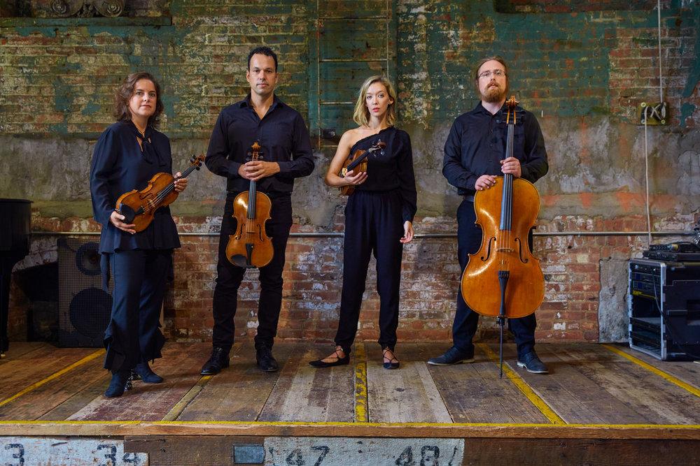 Mivos Quartet    BIO