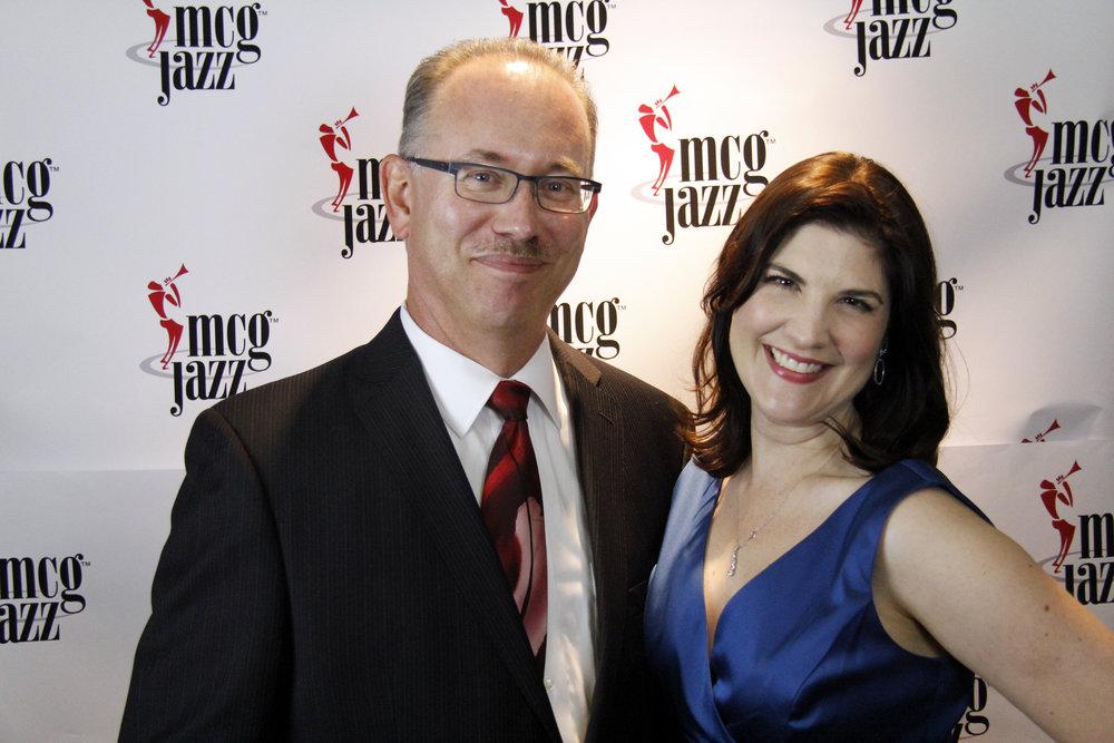 Marty Ashby and Renée Govanucci, MCG Jazz