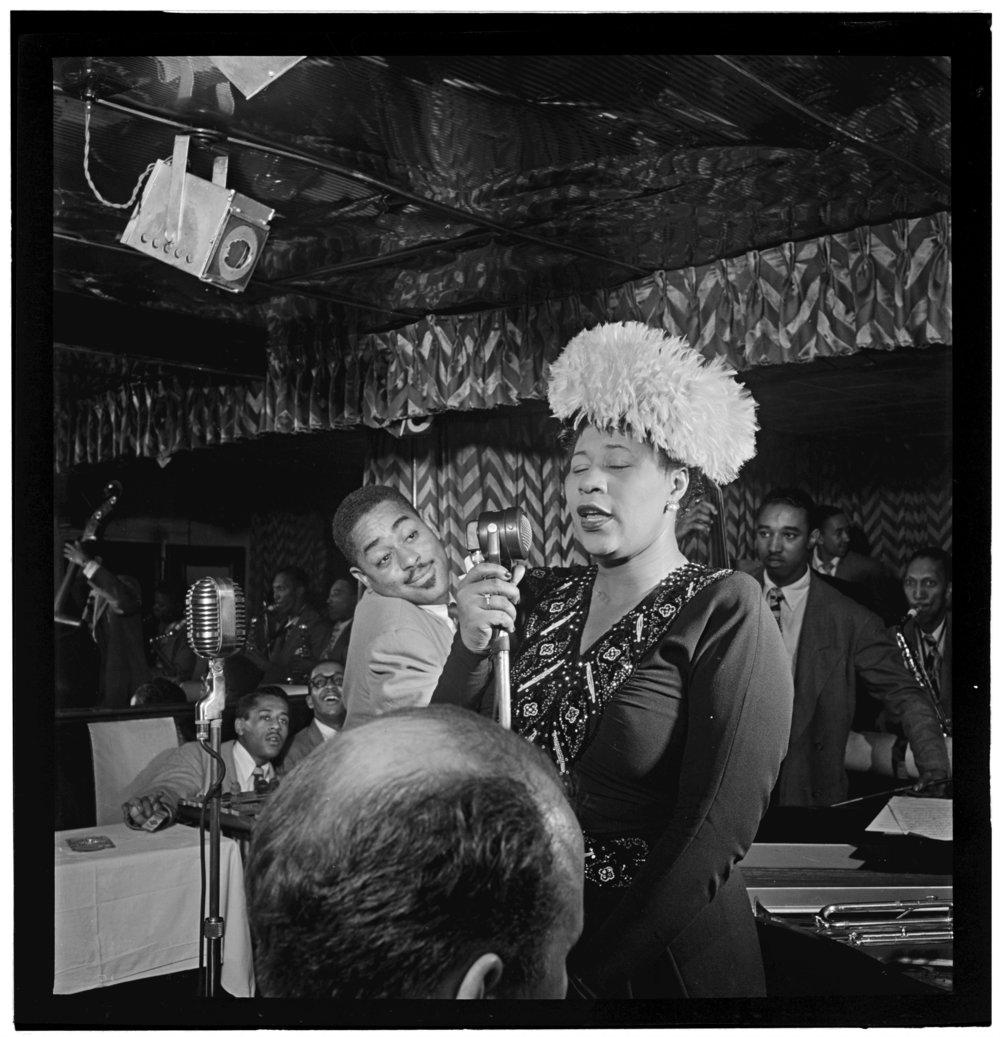Ella Fitzgerald Downbeat New York NY Sept 1947
