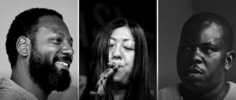 Cliff Barnes, Yoko Suzuki, James Johnson III