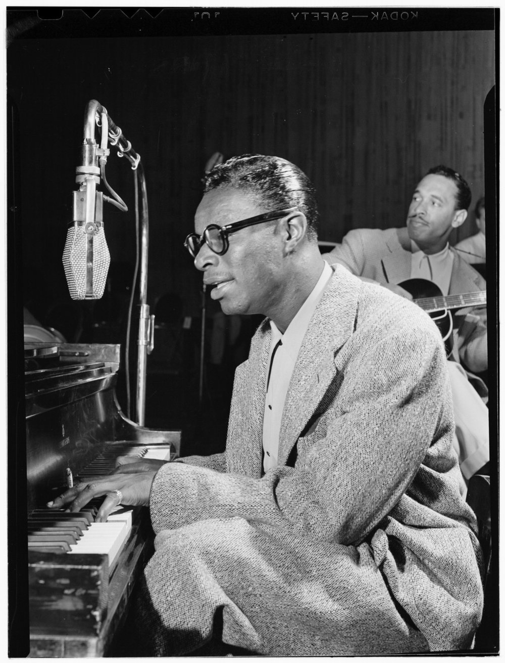 Nat King Cole Oscar Moore, William Gottlieb Collection