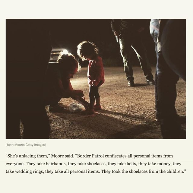 "#Repost @femalecollective ・・・ This is breaking my heart💔 ""If you are neutral in situations of injustice, you have chosen the side of the oppressor"" – Desmond Tutu. Please check out my IG Story for detailed steps to take a stand now! ( via @oliviawilde ) #protectourchildren #usborder #children #child #trumpcamps #immigration #immigrationreform"