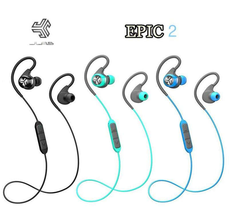 2016 Hot JLab Audio Epic2 Wireless Sport Earbuds Bluetooth 4.0 Headphones Earphones GUARANTEED fitness waterproof IPX5 rated skip-free sound.jpg