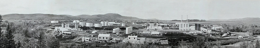 Turner Valley Gas Plant, 1946. Courtesy Alberta Culture