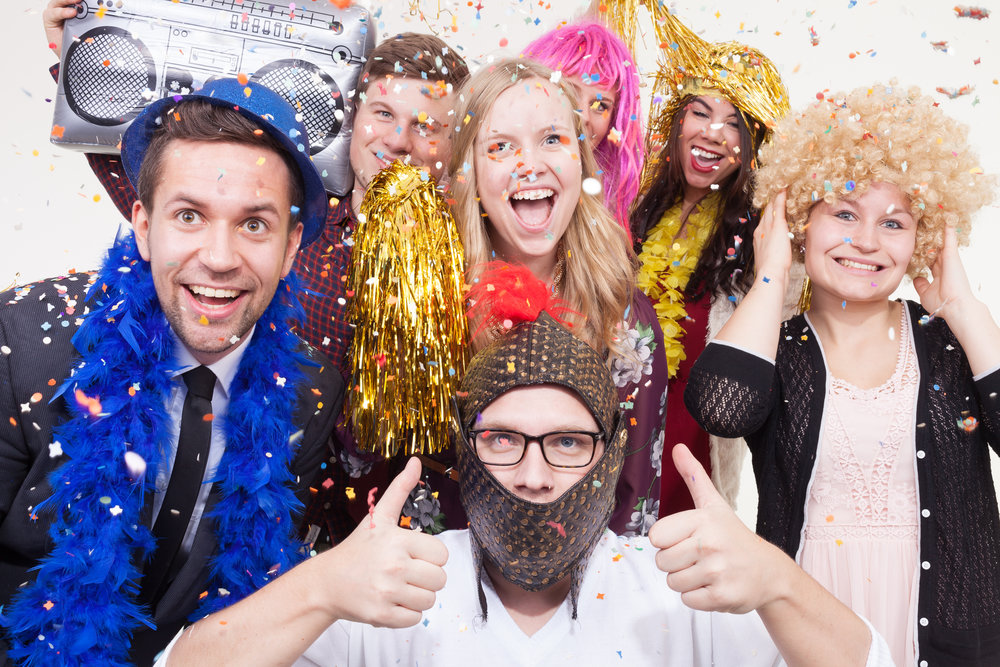 <p><strong>Photo Booths</strong>Unlimited digital and onsite prints, custom strips, and fun props!<a href=/photo-booths>Learn More →</a></p>