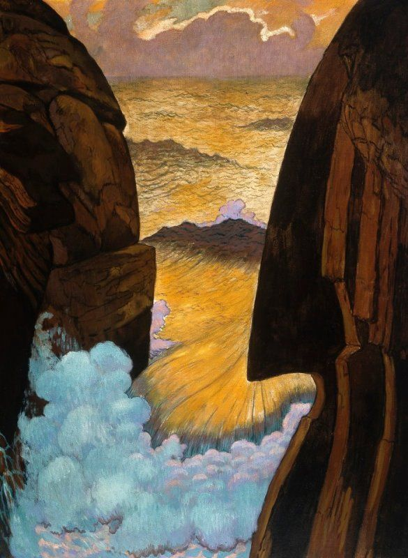 Vorhor, the Green Wave,  Geirge Lacombe, 1896-97
