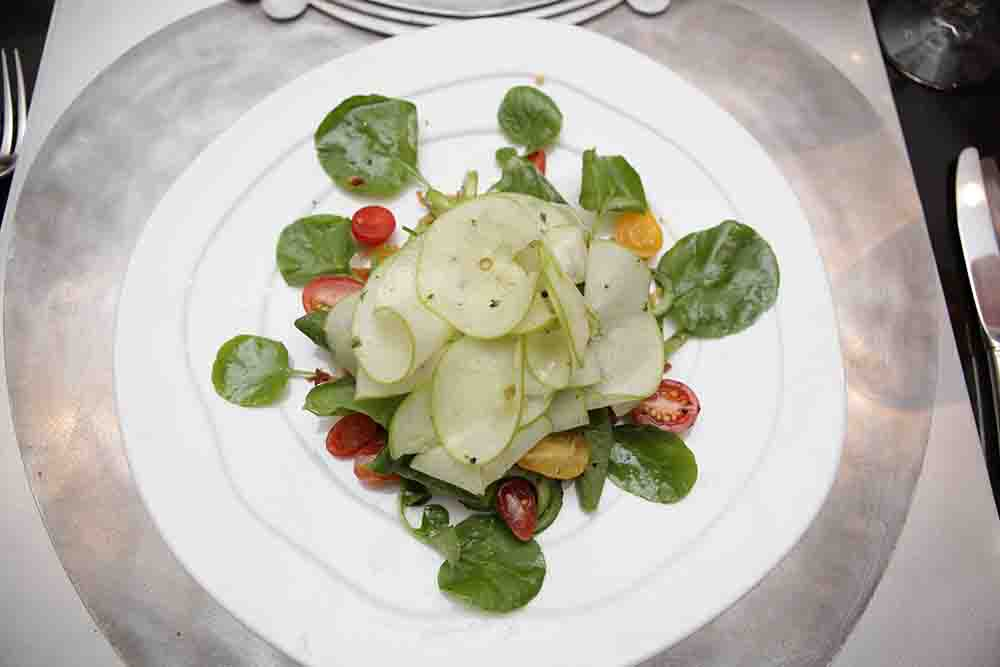 Watercress, Granny Smith and Persian Cucumber Salad N0.75 Vinaigrette