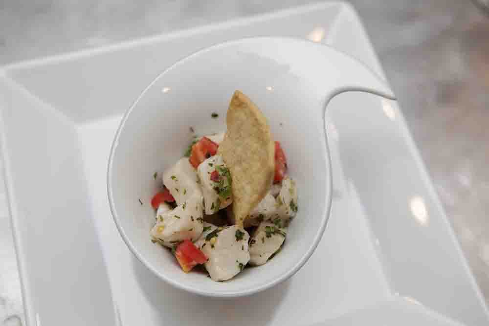 N0.75 Halibut Ceviche
