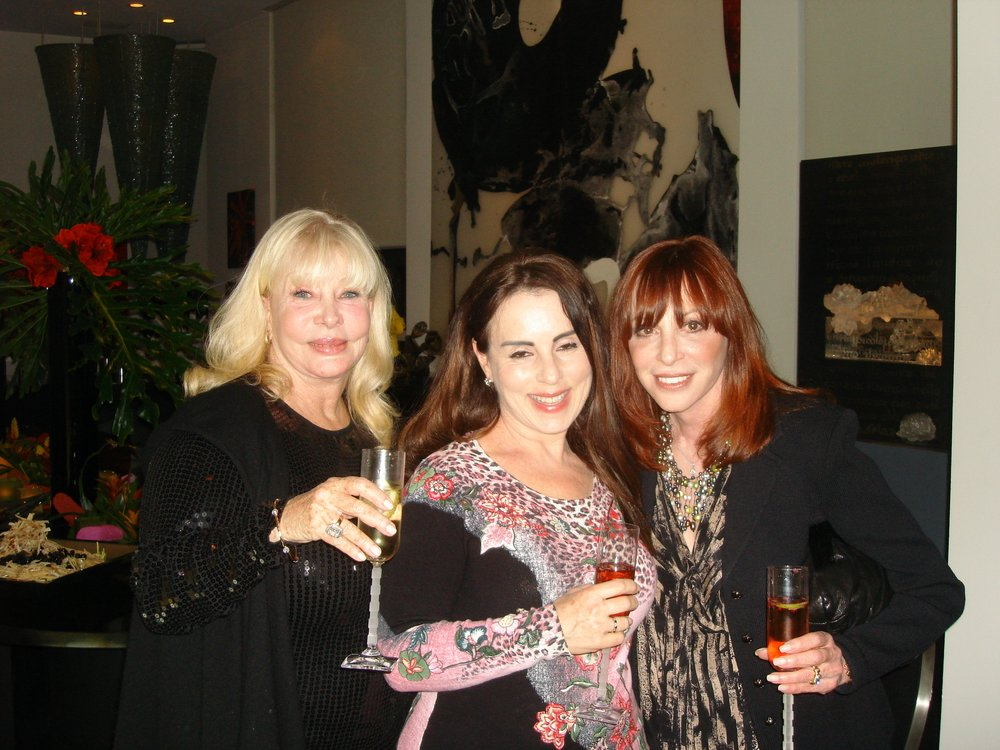 Birthday girl Gail Bershon with Linzi Glass and Ellen Sacks  Photo Credit: Gigi Golightly