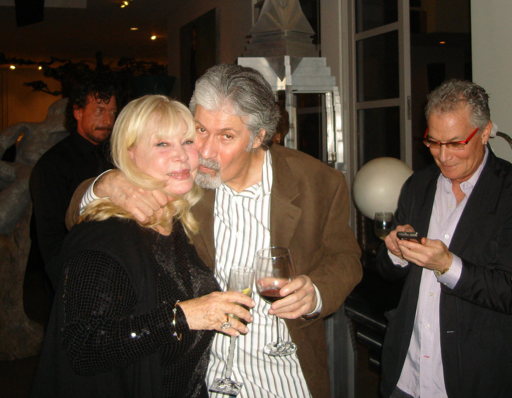 Birthday girl Gail Bershon and friend.  Photo Credit: Gigi Golightly