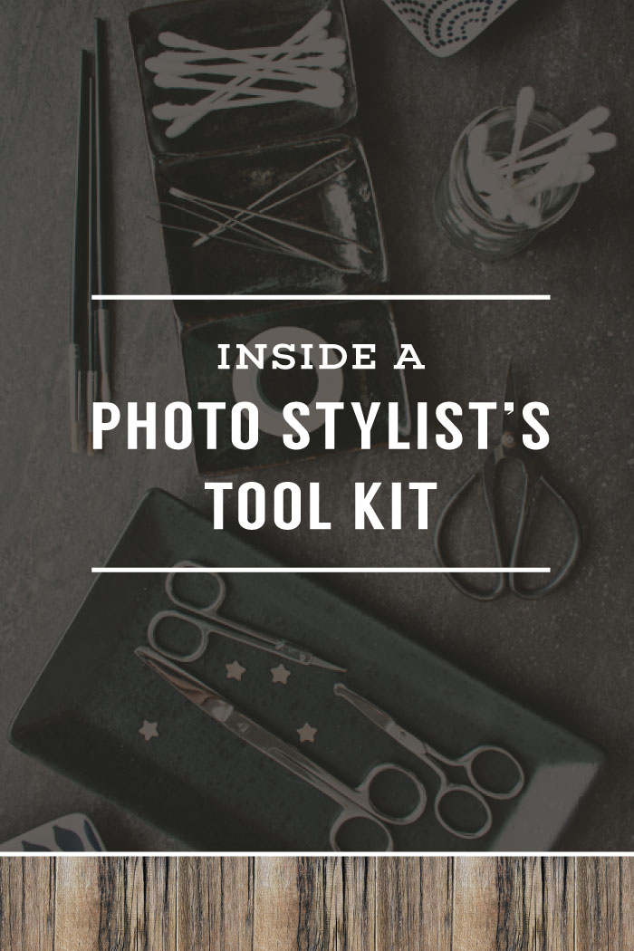 Inside A Photo Stylist's Tool Kit | Planq Studio | prop styling | prop photography | behind the scenes