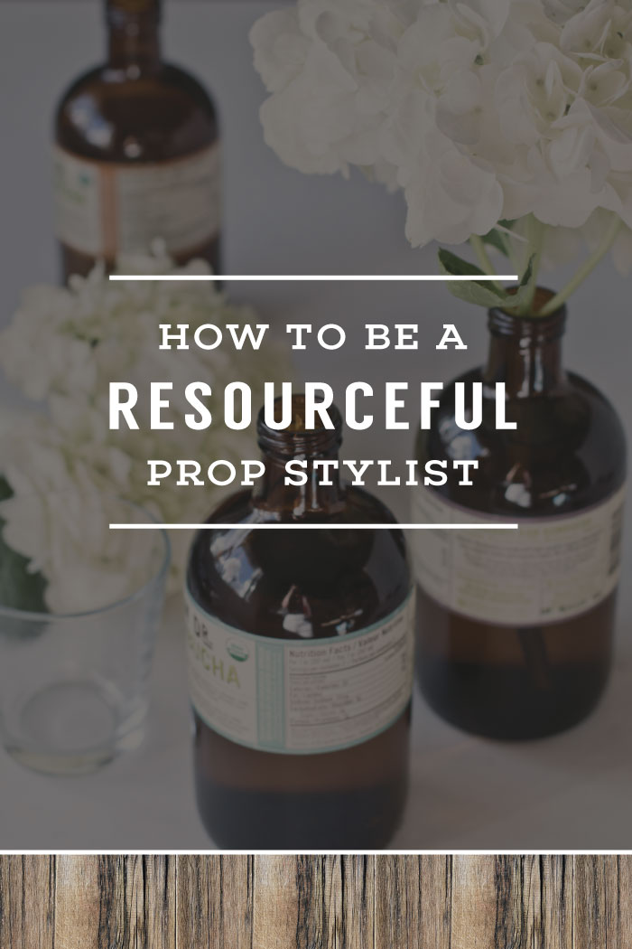 How To Be A Resourceful Prop Stylist | Planq Studio | photo props, prop styling, photo styling, brand photography, blog photography, visual marketing