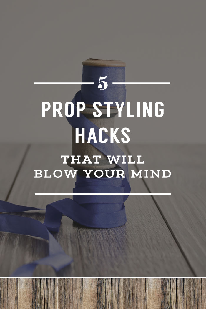5 Prop Styling Hacks That Will Blow Your Mind | Planq Studio | photo props, styling hacks, photo styling, brand photography, blog photography, visual marketing