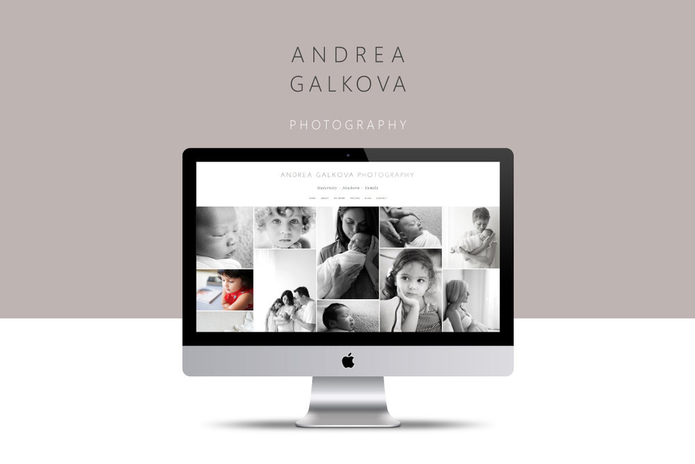 Andrea Galkova: Website