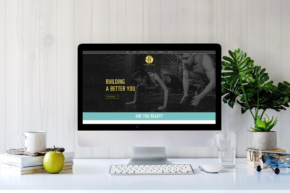 the strength of us: Branding + website