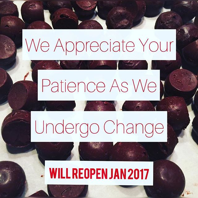 We'll see you next year. #chocolatetruffles #canvaschocolate