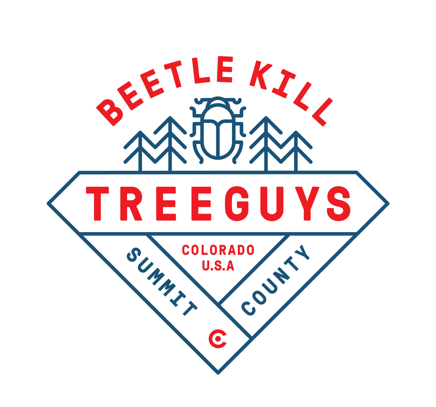 Beetle Kill Tree Guys
