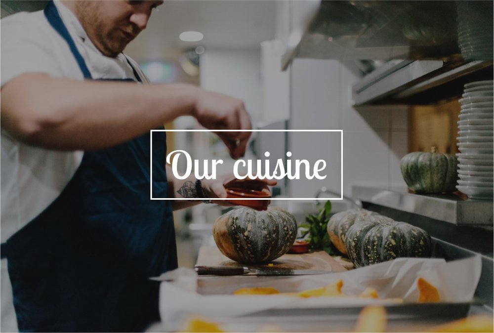 our cuisine