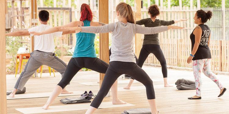 Yoga on the Farm + Breakfast