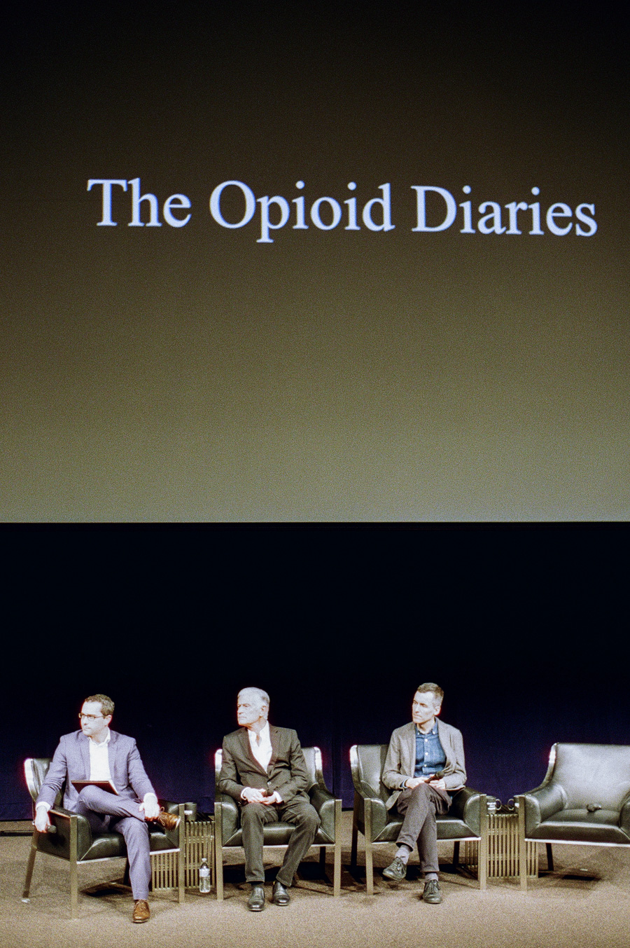 The Opioid Diaries: James Nachtwey's Talk at Newseum in Nation's Capital
