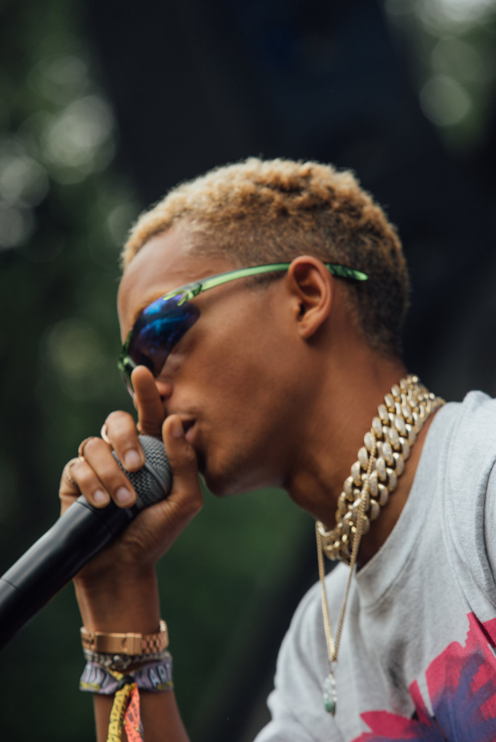 LOLLAPALOOZA LIVE: Jaden Smith at American Eagle Stage