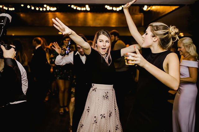 "When Backstreet Boys comes on at a wedding 💃👯‍♀️😎 For real though that is actually what happened here 😂 Already missing my dance partner and hype girl and best beautiful magical sister @peytonyoder !  She is back in London chasing her dreams (@peytonyodermakeup ) and I could not be more proud of her... well alright except for maybe how dedicated she was to singing this song 😆 and y'all should have seen her go after the bouquet 🤣 or clear the dance floor to do the worm 🤣🤣🤣 .  Tag your gal that these photos make you think ""this is so us"" 🤗🤗 Then go follow @peytonyodermakeup and watch as she slays London Fashion Week this week!"