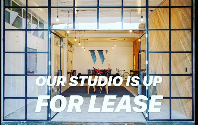 We're moving over the road, which means we're looking for someone to lease our current studio. Head over to our wrestler.nz/studio-lease