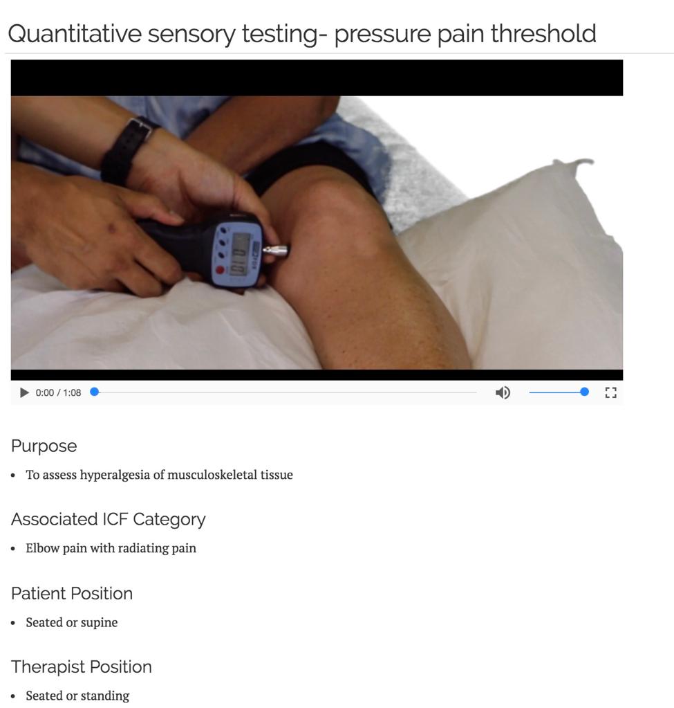 quantitative sensory