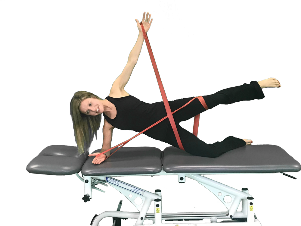Side Plank Isometric Hold