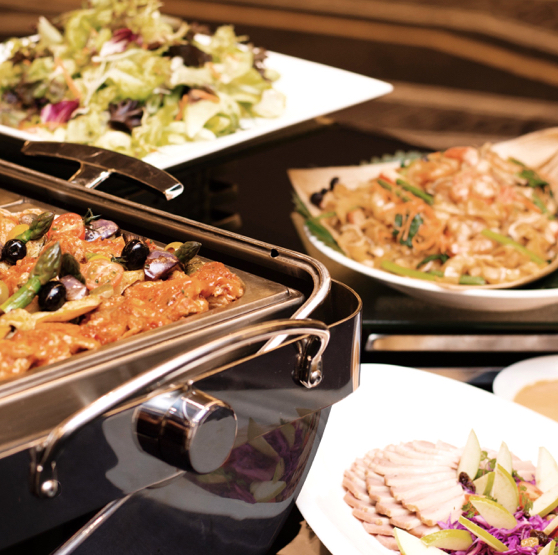 Exclusive Buffets Savour a sumptuous spread for any occasion, palate and budget.