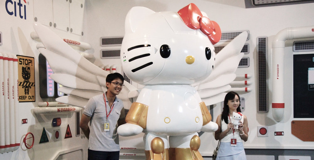 Robot Kitty Singapore exhibition