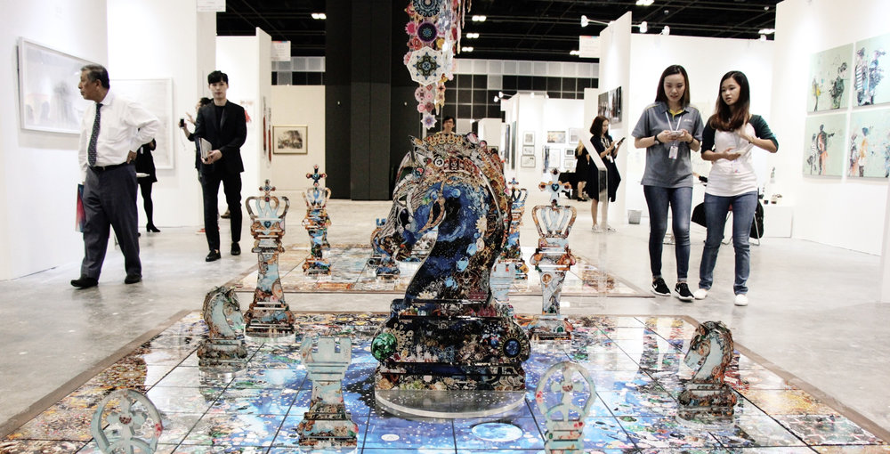 The inaugural Singapore Contemporary Art Show 2016