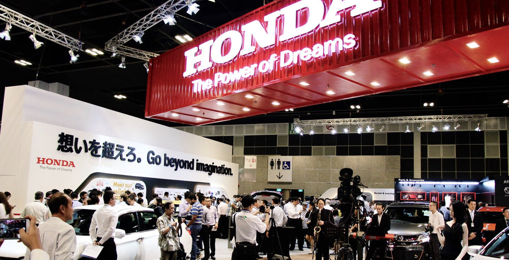 Honda at The Singapore Motorshow 2016