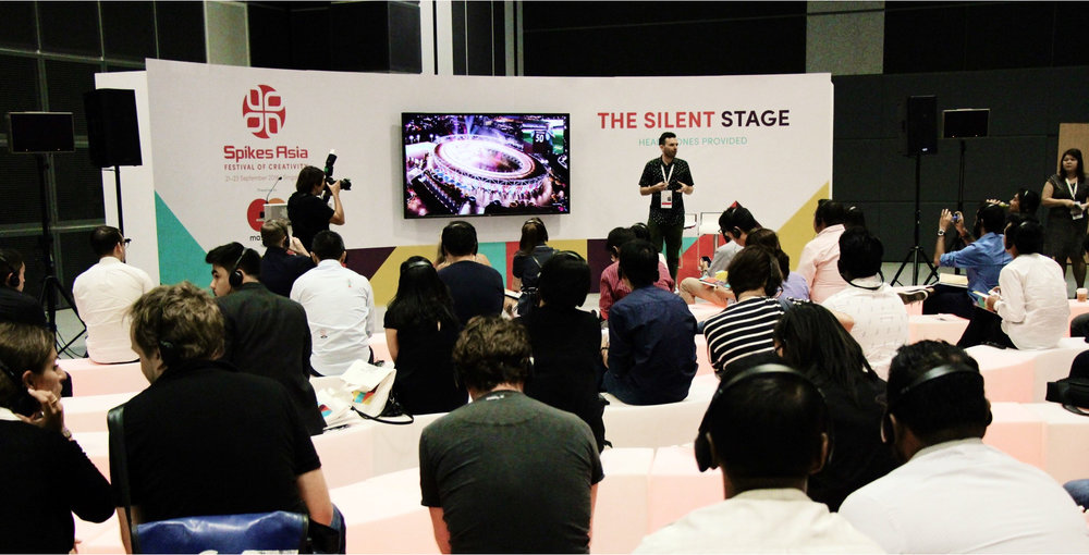 Satellite theatre at Spikes Asia 2016