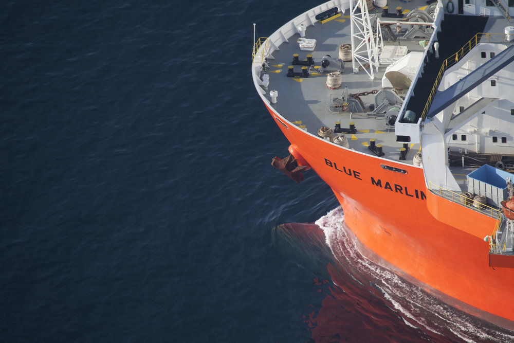 Dockwise Shipping Aerial Photograph