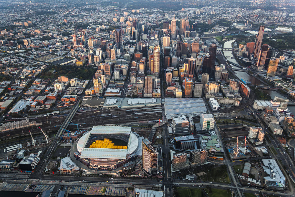 Aerial Photography of Melbourne