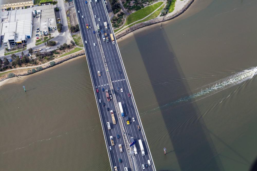 The Westgate Bridge