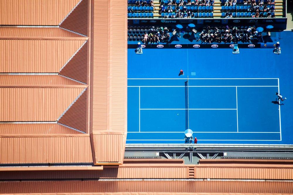 Aerial Photo of Margaret Court Arena