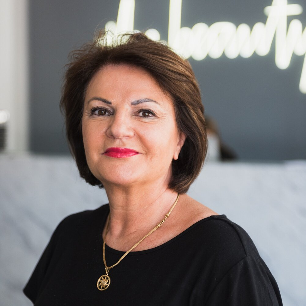 Anna Perri   Dermal Clinician  With a Health Science Degree and over 30 years of experience, Anna has devoted her career to the evolving technologies of the beauty industry. Passionate about skin health, Anna is driven by the incredible results that can be achieved in the management of difficult skin conditions including hyper-pigmentation, skin sensitivity and acne. Performing most of the clinic's laser treatments, from hair reduction to skin tightening, Anna will have you looking your radiant best.