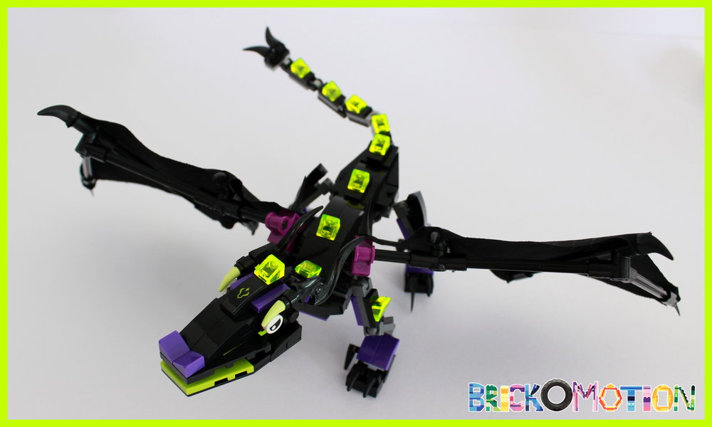 Dragon Maleficent - from above