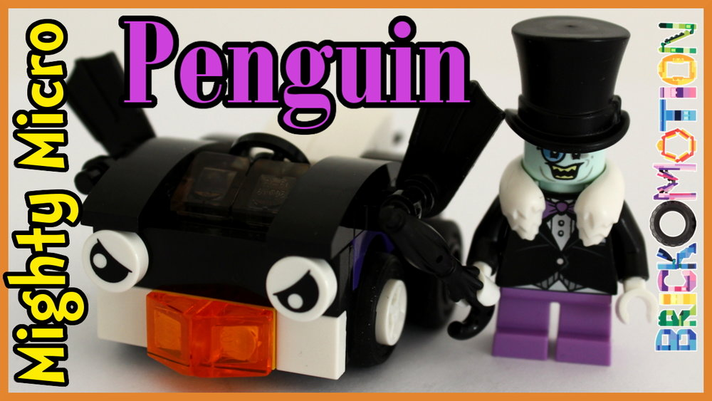 Penguin's Penguin angry vehicle with fins