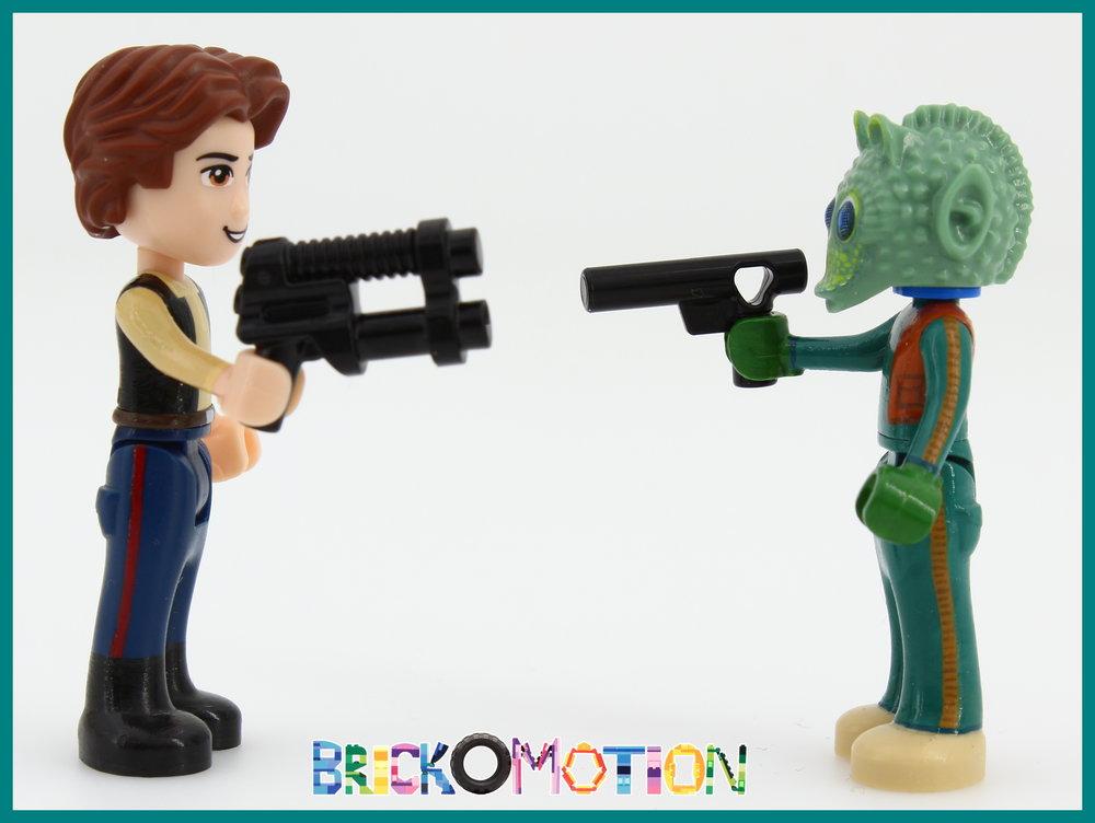 Han Solo & Greedo