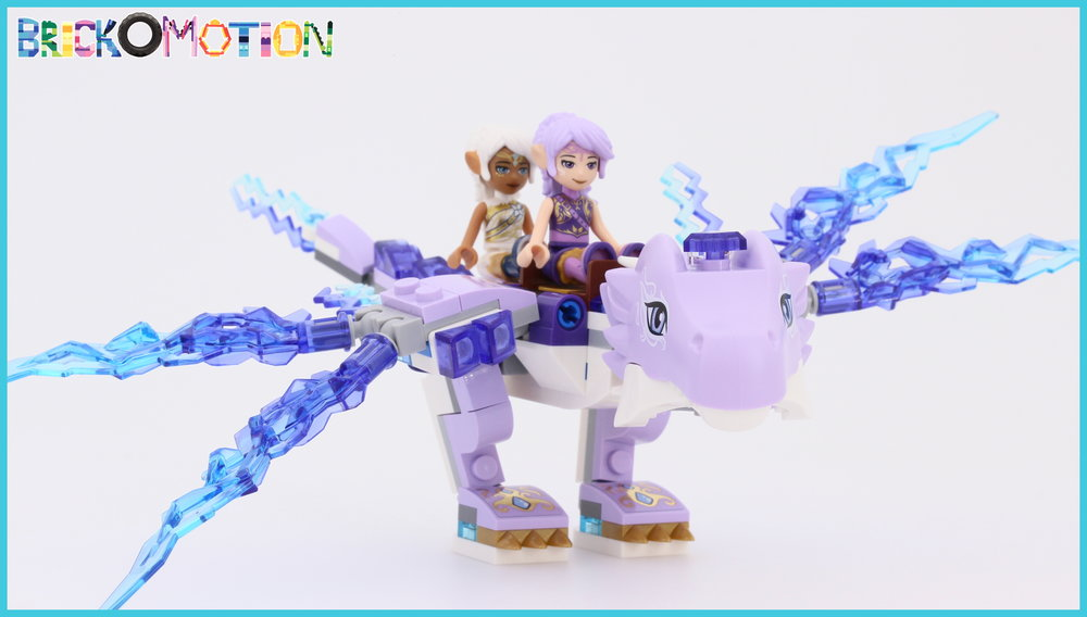 Lumia and Aira get to fly on the wind dragon